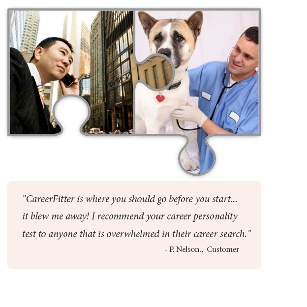 A Businessman And Veterinarian Successful Careers  Career Aptitude Test Free