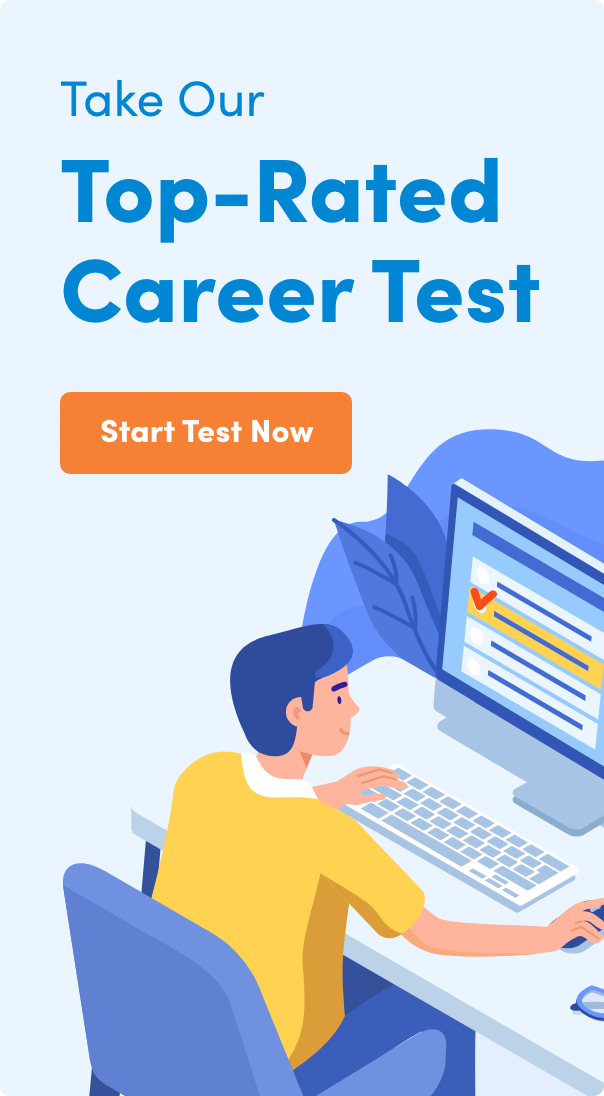 Click Here To Take Our Top-Rated Career Test